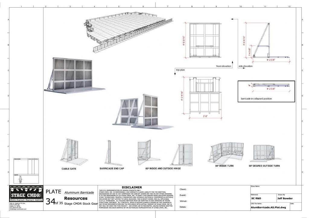 34 - Aluminum Barricade JIS A1 Title Block (1)-page-001