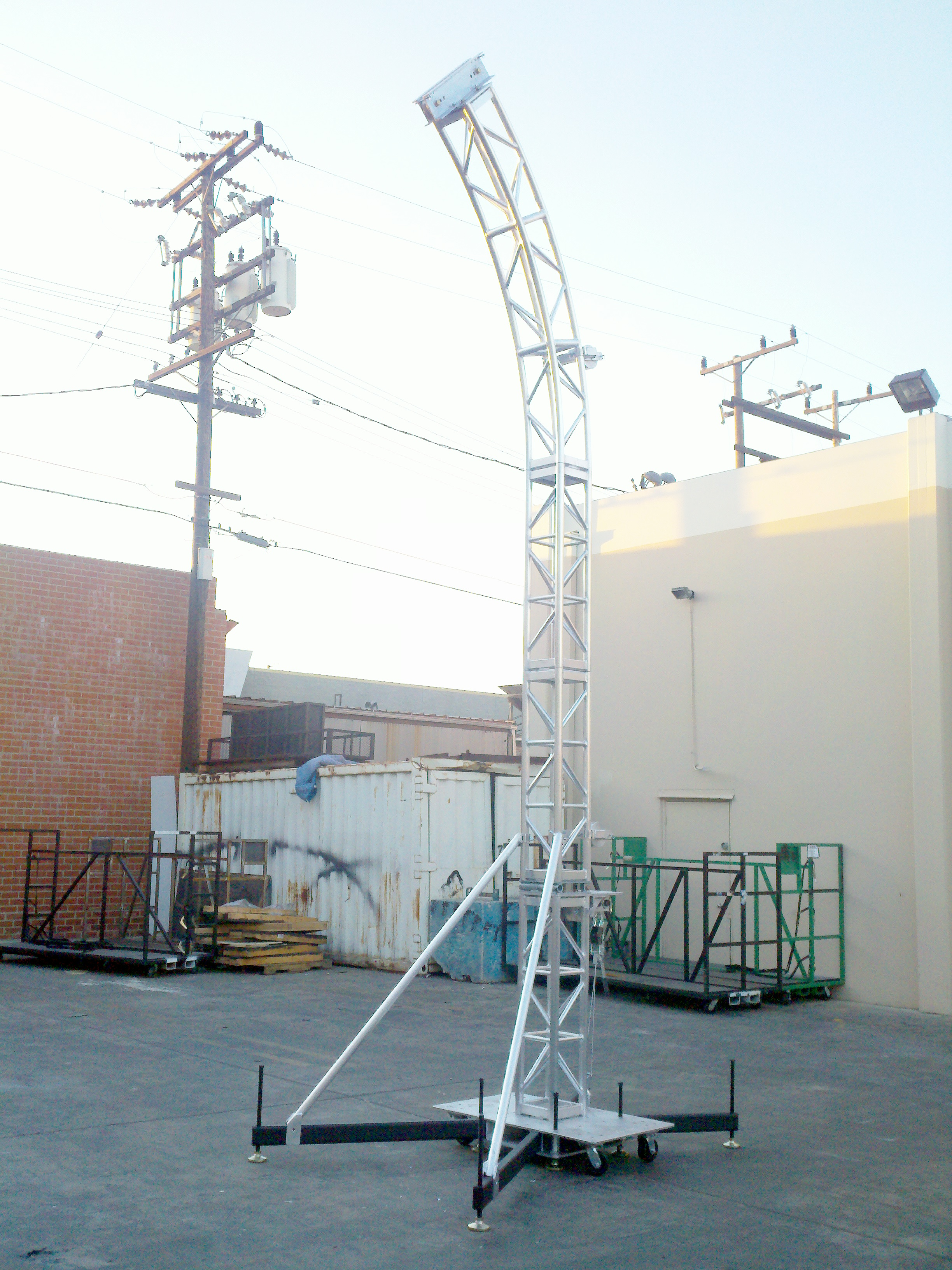 Entertainment Stage Crowd Barricade Rigging Lighting