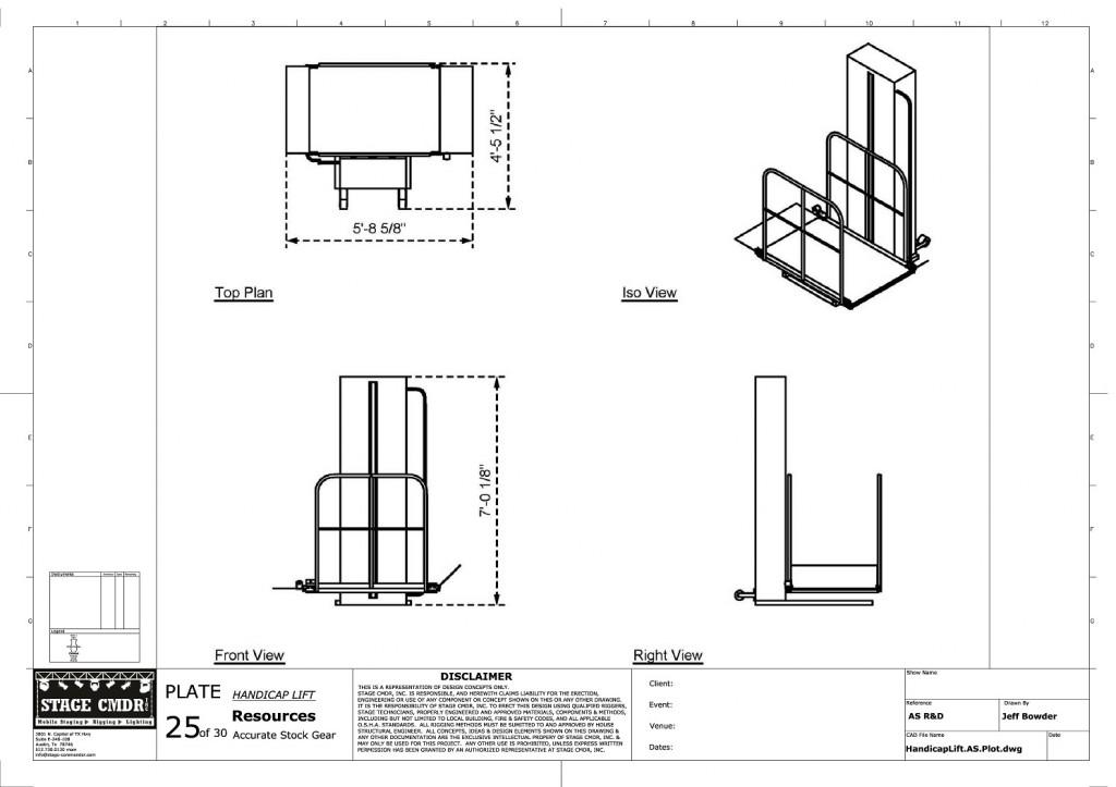 25 - Handicap Lift JIS A1 Title Block (1)-page-001